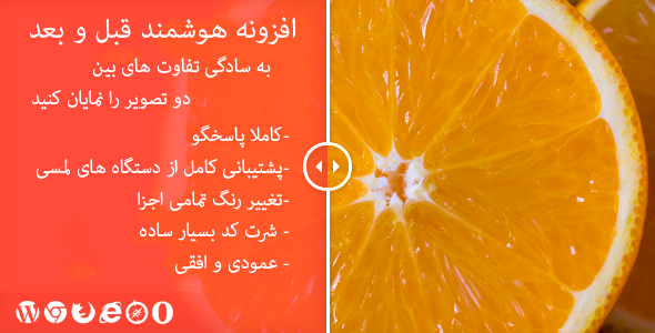 cover - افزونه وردپرس قبل و بعد تصویر | Smart Before After Viewer