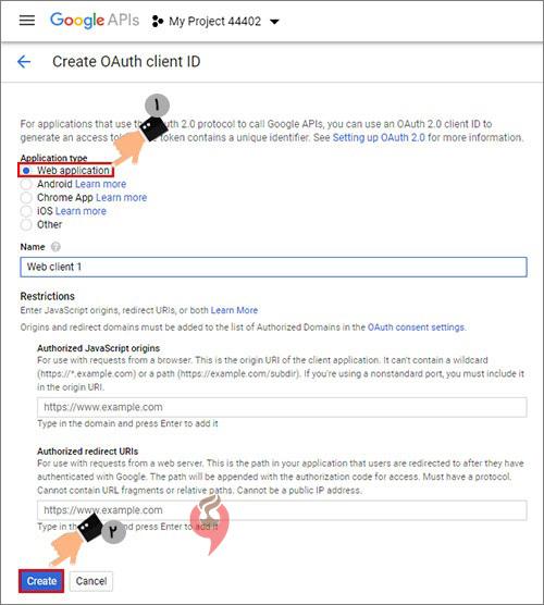 8google - آموزش فعالسازی عضویت و ورود در وردپرس توسط اکانت گوگل