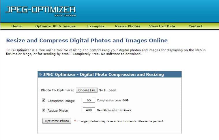 JPEG Optimizer - تاثیر تصاویر بر سئو و سرعت سایت